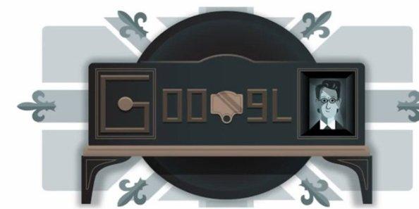 google-doodle-rayakan-90-tahun-peragaan-tv-mekanik