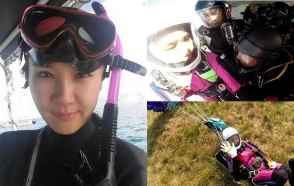 aktris-jung-in-ah-meninggal-kecelakaan-saat-main-terjun-payung